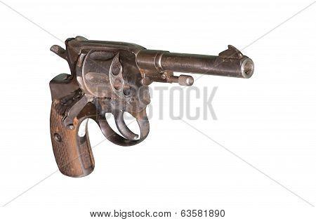 Pistol Nagant Revolver Circa 1941