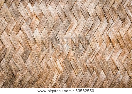 Old Bamboo Background Pattern Texture