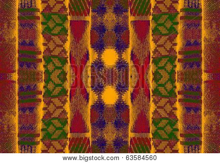 ornamental Pattern, Pashmina, Nepal