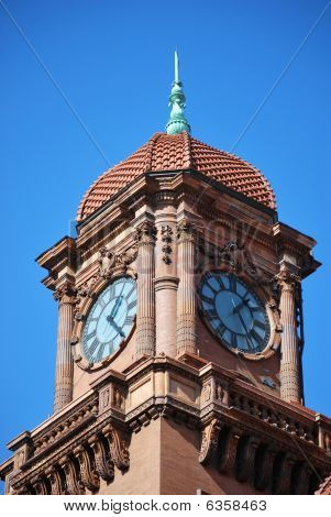 Railroad Station Clock Tower (french Renaissance  Style)
