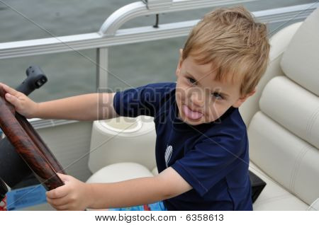 Sassy Captain Of The Boat