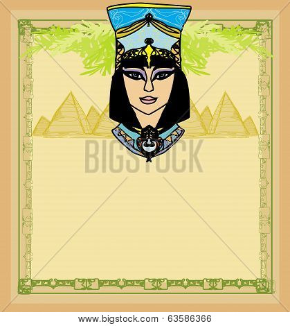 Egyptian Queen Cleopatra , Frame