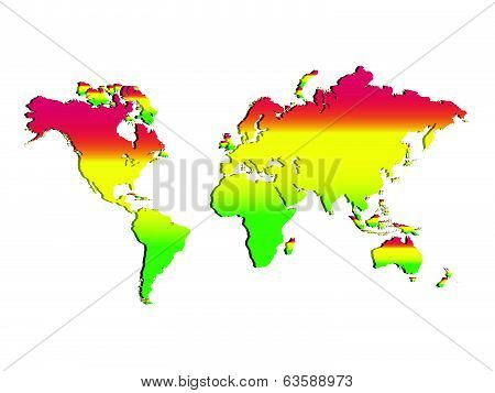 Rastafari World Map