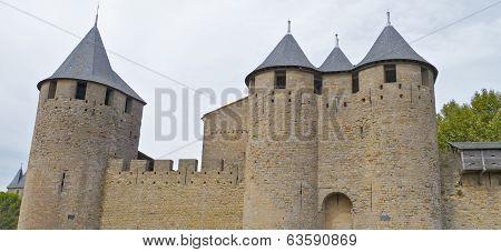The Castle, Carcassonne, France.