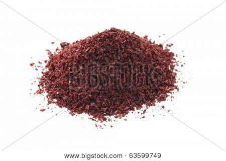 sumac fruit powder, middle eastern spice