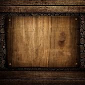 old wood board