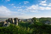 image of bohemian  - Sandstone formations in Bohemian Paradise, Czech Republic