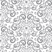 Floral pattern. Abstract seamless pattern. Rasterized Copy