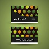 Dotted Business or Gift Card