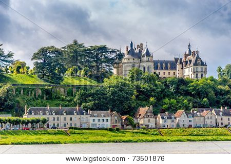 Chateau De Chaumont Is Located On The River Loire.