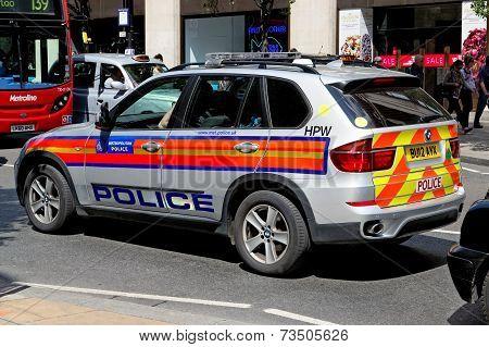 London Metropolitan Police BMW