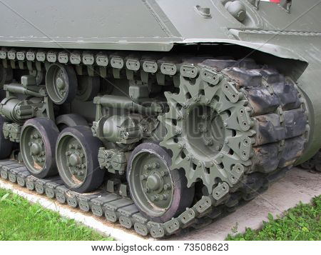 Army Tank Close-Up