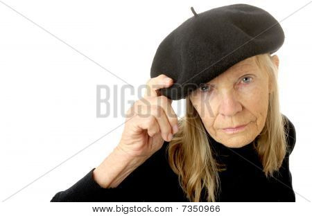 Woman In Beret