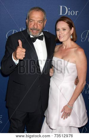 LOS ANGELES - OCT 8:  Dick Wolf, Noelle Lippman at the Princess Grace Foundation Gala 2014 at Beverly Wilshire Hotel on October 8, 2014 in Beverly Hills, CA