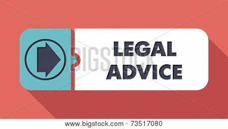 Legal Advice on Scarlet in Flat Design.