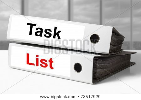 Office Binders Task List