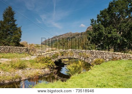 Watendlath Stone Footbridge