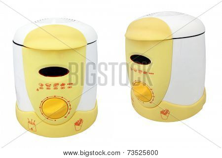 The image of food processor under the white background