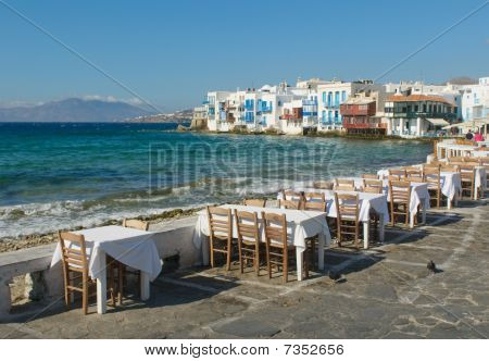 Little Venice, Mykonos Island, Greece