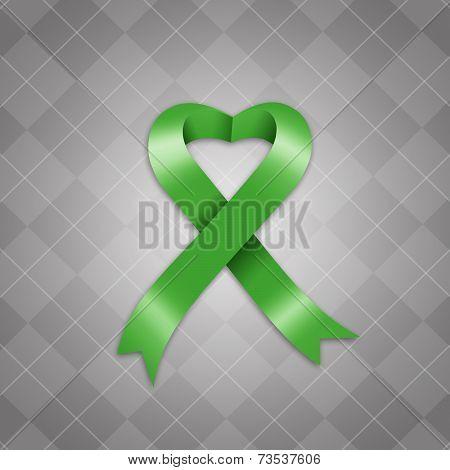 Awareness Green Ribbon