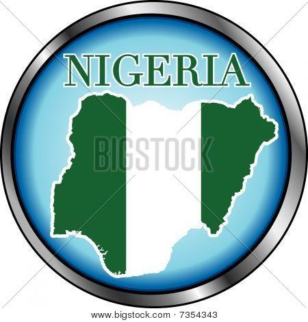 Botón redondo de Nigeria