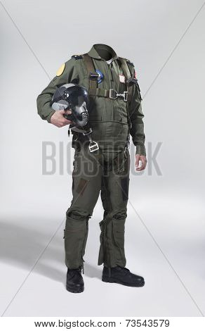 Fighter pilot's body