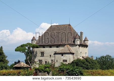 Castle of Yvoire in Haute Savoie