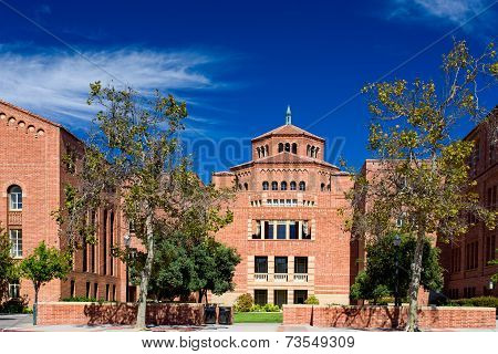 Powell Library On The Campus Of Ucla.