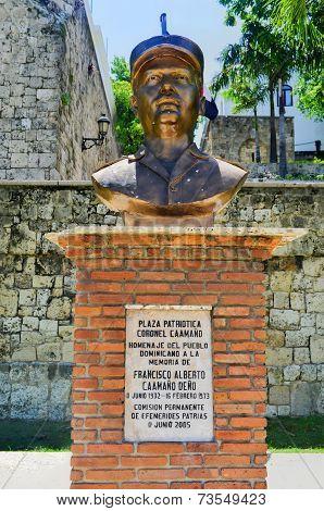 Bust Of Francisco Alberto Caamano Deno, Santo Domingo, Dominican Republic