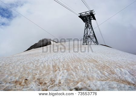 Cable Fanicular Railway Tower