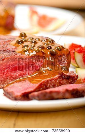 Green Peppercorn Beef Filet Mignon