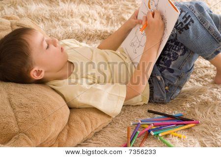 beautiful bengel zeichnen ein Bild