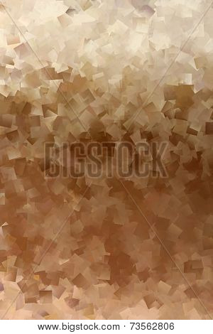 Brown and Beige Abstract