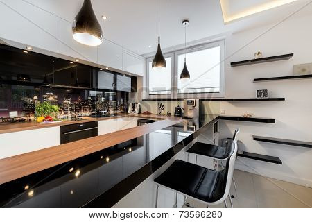 Modern Open Space Luxury Kitchen
