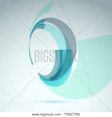Abstract Spin Wheel Element Background