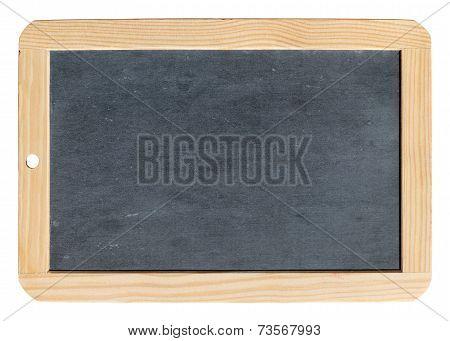 Isolated school slate