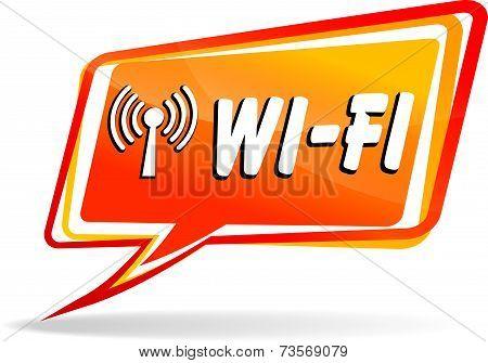 Wi-fi Speech Bubble