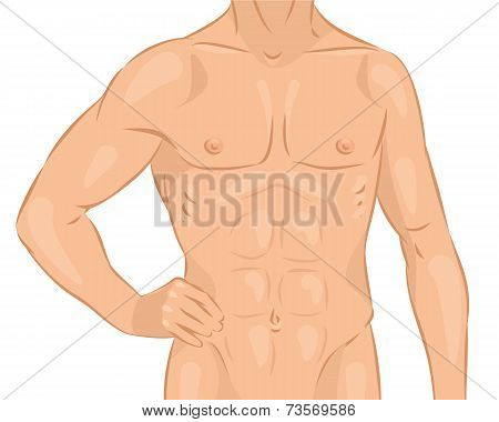 Naked Male Body