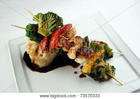 Vegetarian Yakitori