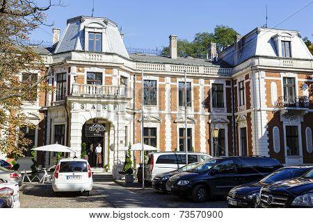 Konstanty Zamoyski Palace In Warsaw