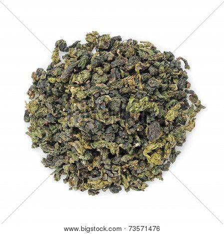 Oolong Green Tea Heap From Above