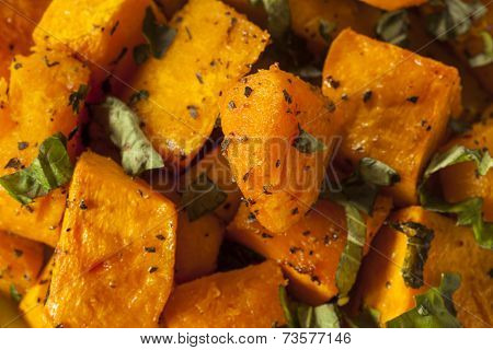 Organic Baked Butternut Squash