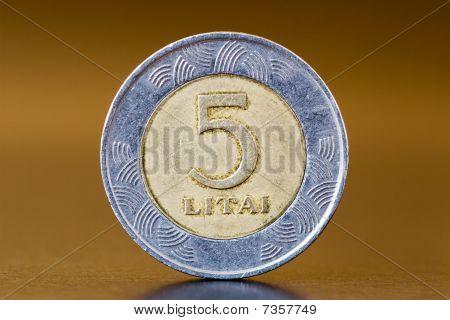 five litas