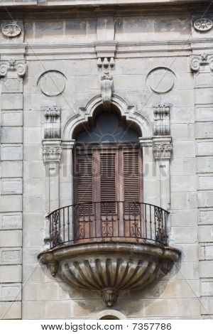 Architectural Detail Of An Old Colonial Church (iv)