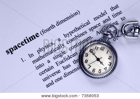 Definition Of Spacetime And Pocket Watch