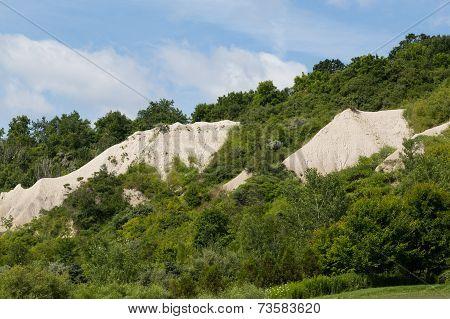 Rocks On The Hillside