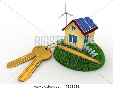Keys From The Hi-tech House
