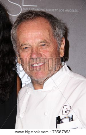 LOS ANGELES - OCT 8:  Wolfgang Puck at the 5th Annual PSLA Autumn Party at 3LABS on October 8, 2014 in Culver City, CA