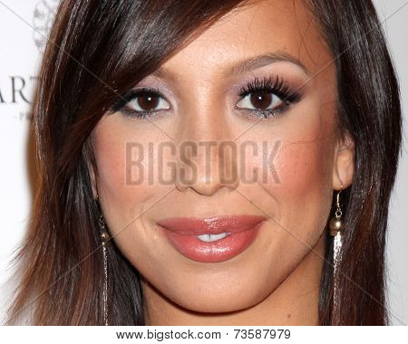 LOS ANGELES - OCT 9:  Cheryl Burke at the Star Magazine Scene Stealers Event at Lure on October 9, 2014 in Los Angeles, CA