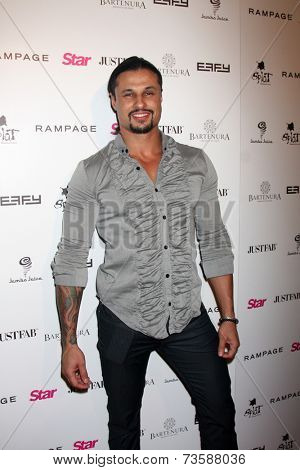 LOS ANGELES - OCT 9:  Ash Armand at the Star Magazine Scene Stealers Event at Lure on October 9, 2014 in Los Angeles, CA